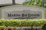 sign for Marina Bay Estates