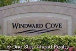 sign for Windward Cove
