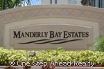 sign for Manderly Bay Estates