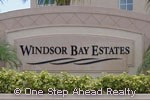 sign for Windsor Bay Estates