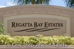 sign for Regatta Bay Estates
