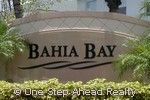 sign for Bahia Bay