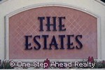 sign for The Estates