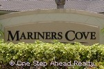 sign for Mariners Cove