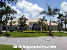 The Isles at Wellington provides a luxurious and well equipped clubhouse.
